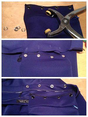A hidden travel pocket tutorial fehrtrade for Travel gear hidden pocket